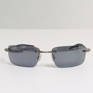 Authentic RARE Oakley WHY 8 Rimless Sunglasses